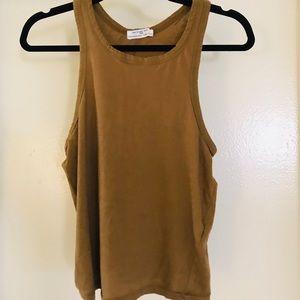 Zara cotton halter top.